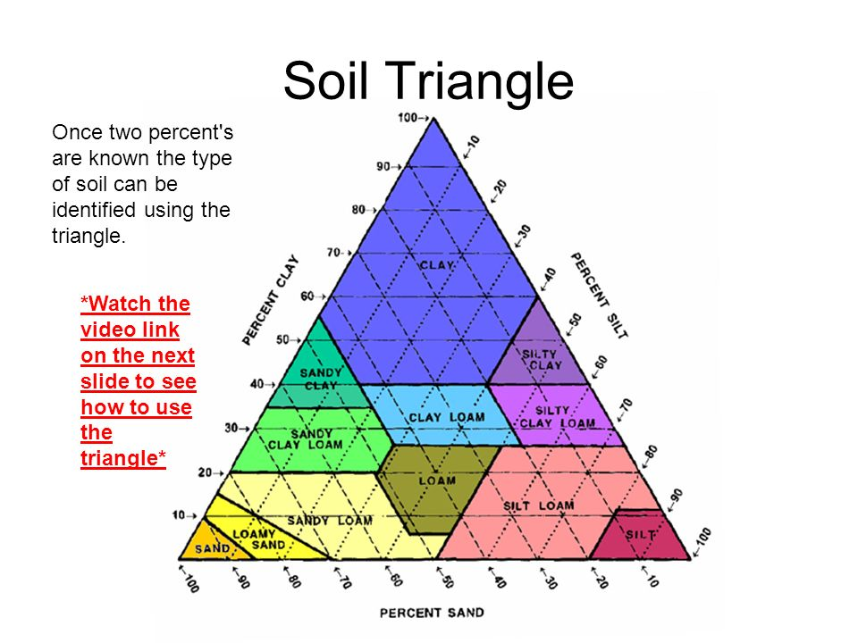 VOCABULARY WORDS ARE IN RED ppt download – Soil Triangle Worksheet