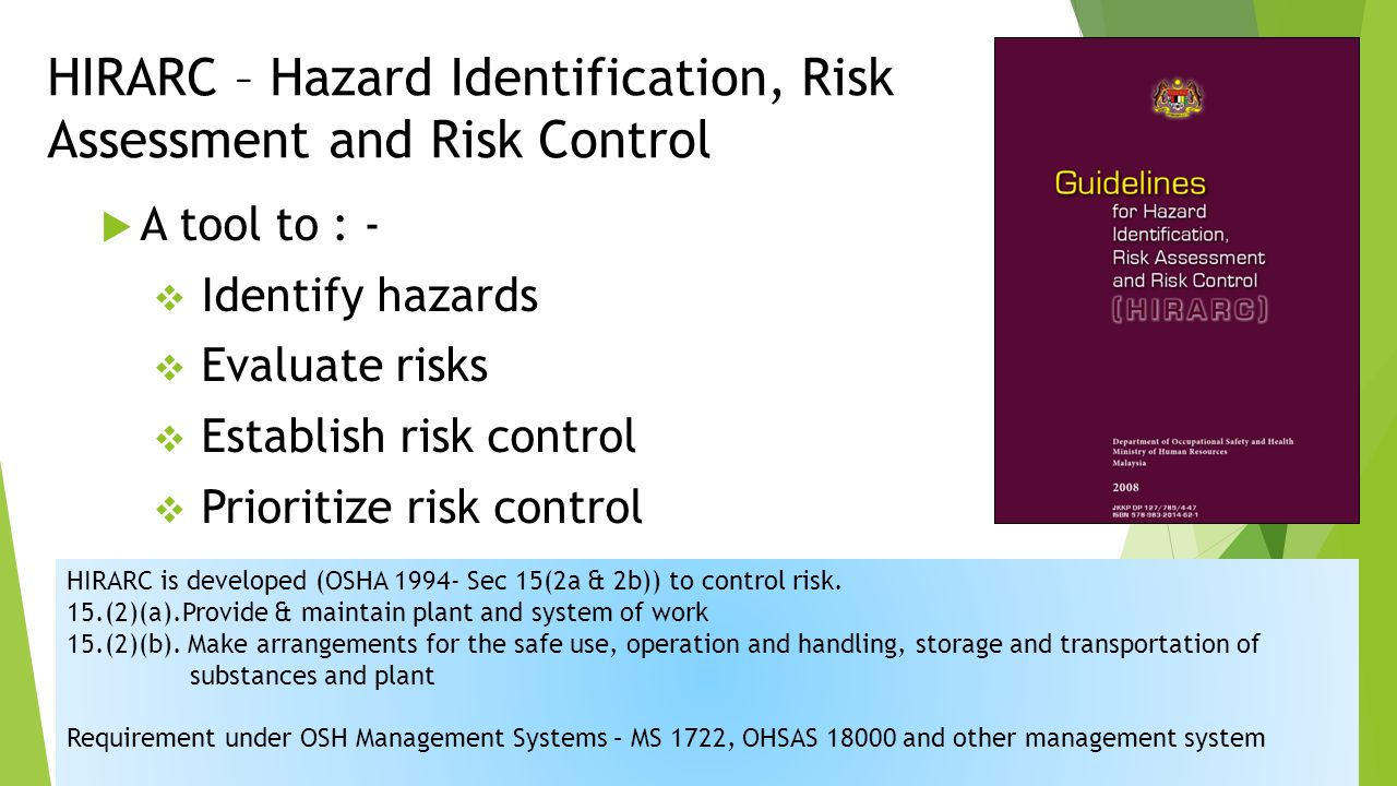 How to control hazard and risk in the kitchen health and - Rischi in cucina ppt ...