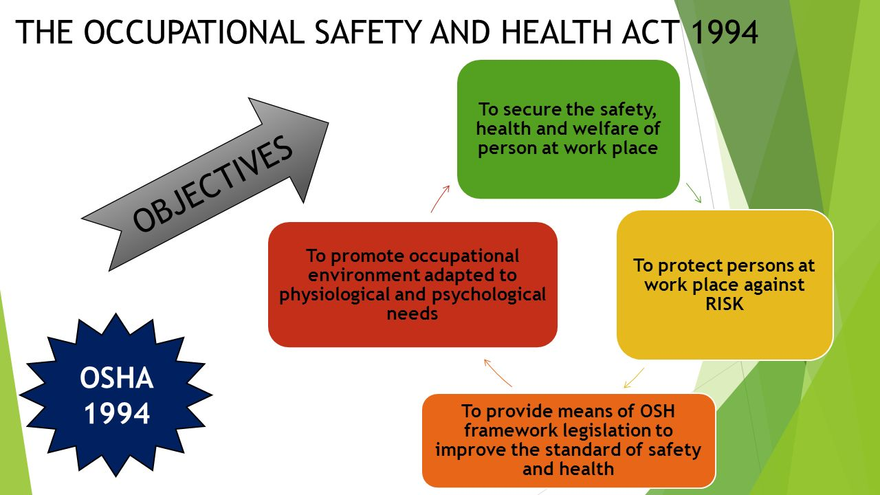 occupational safety and health inspector you suppose one