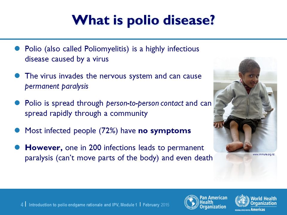 module 1 introduction to the polio endgame rationale and