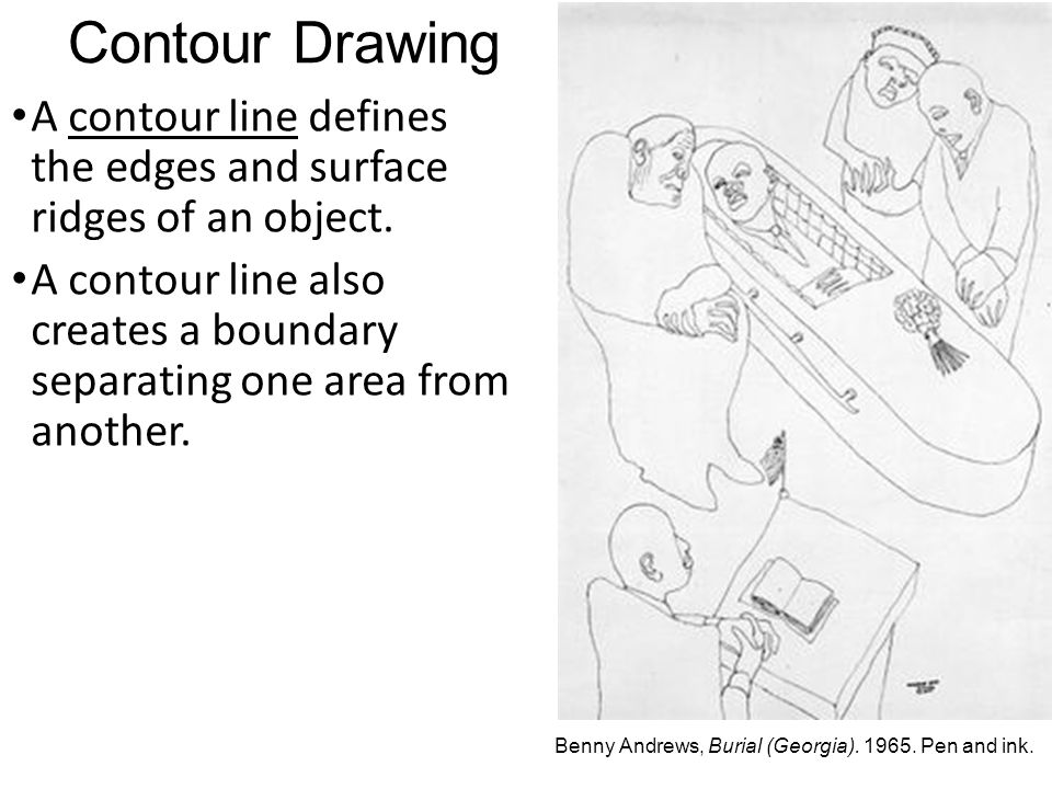 Contour Line Drawing Xbox One : Arttalk chapter line ppt video online download