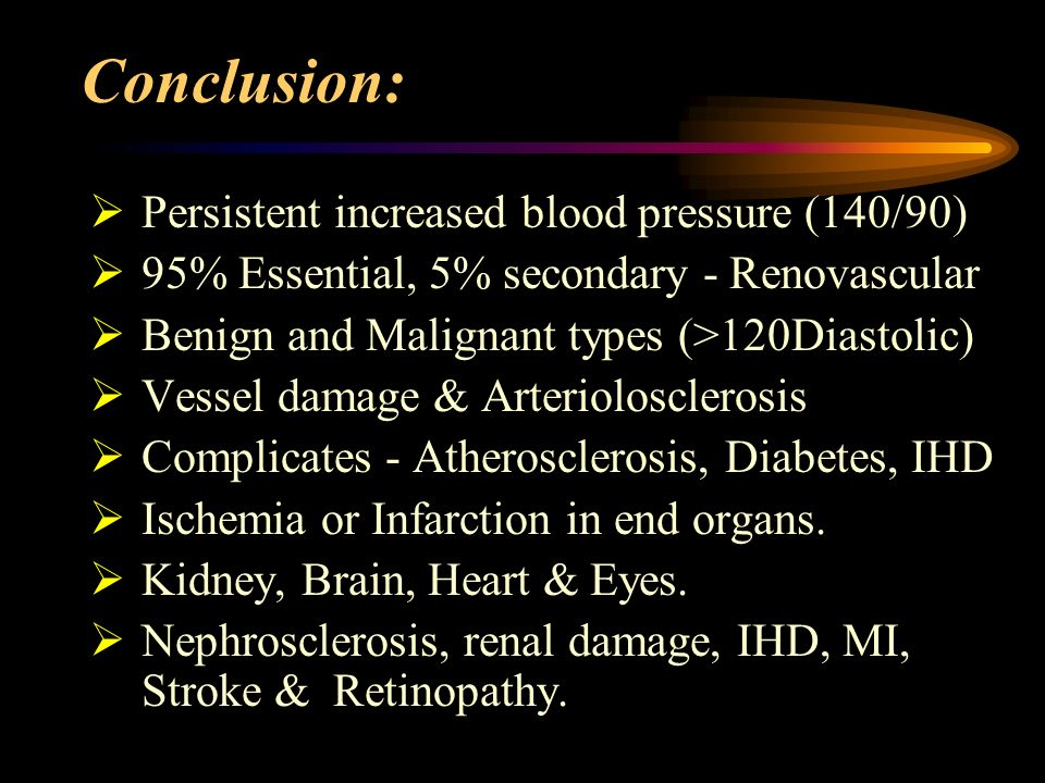 conclusion hypertension 935: evidence that perinatal hypertension and inflammation leads to chronic  inflammation, hypertension and  objective study design results conclusion.