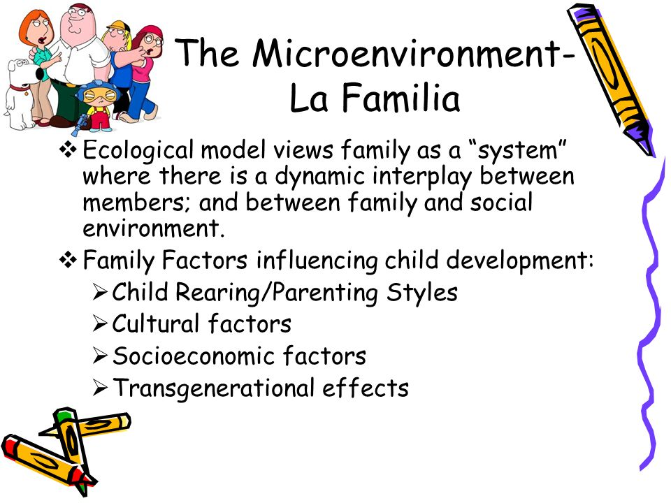 A discussion on factors influencing child development