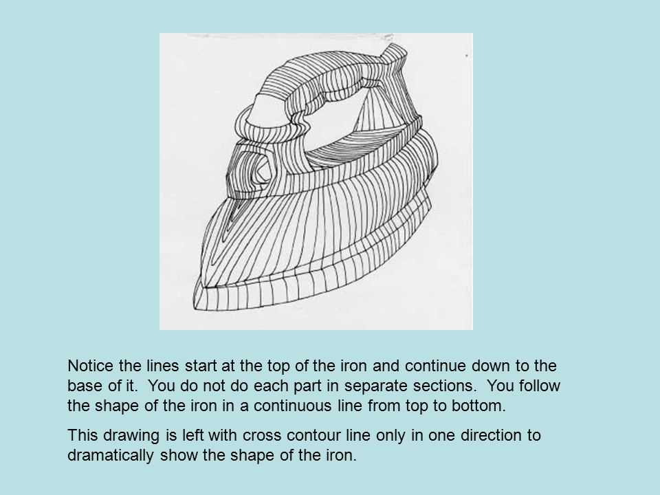 Contour Line Drawing Pdf : Exaggerated contours ppt video online download