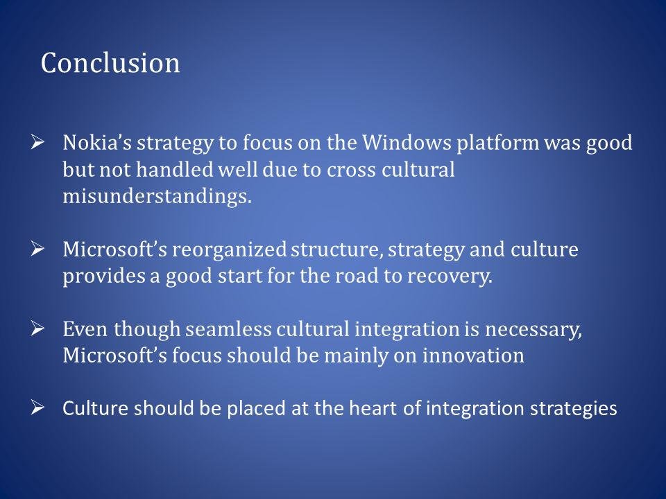 microsofts structure and culture The assignment is about six outcomes of organizations and behavior subject  the scenario company is microsoft, founded in 1975, which is.