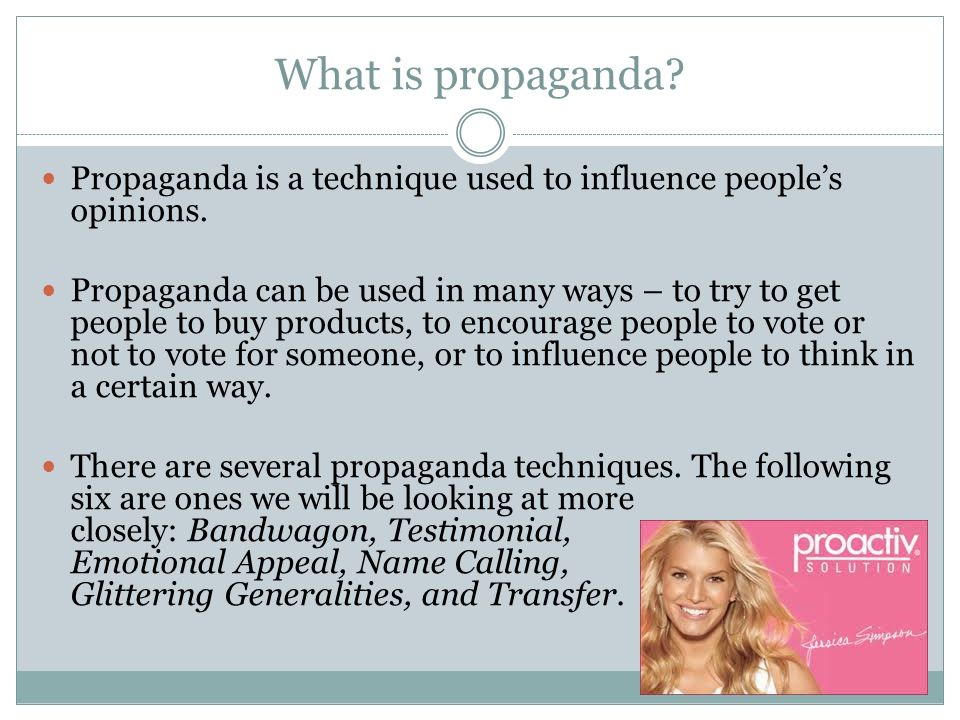 Mastering the Propaganda Techniques - ppt video online ...