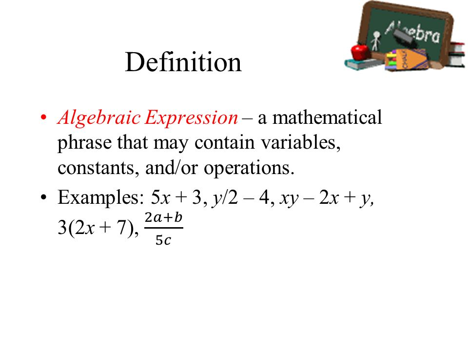 expression definition math Expression, in which variable is written under signs of trigonometric functions is  called trigonometric googletagcmdpush(function () { googletagd.