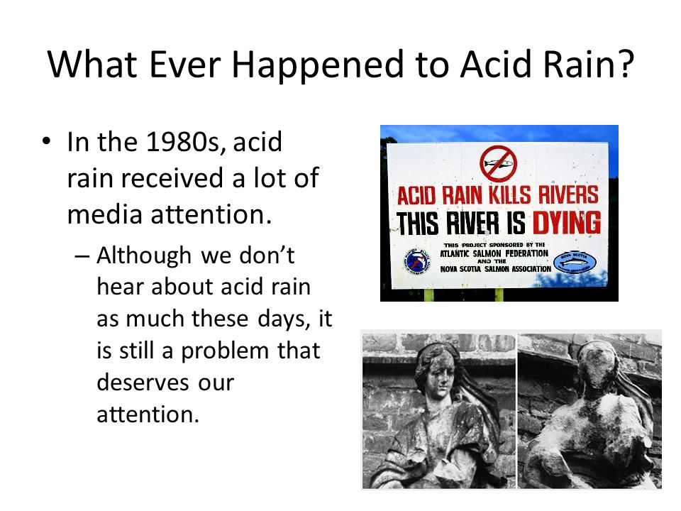 What Place in the World Receives the Most Acid Rain?