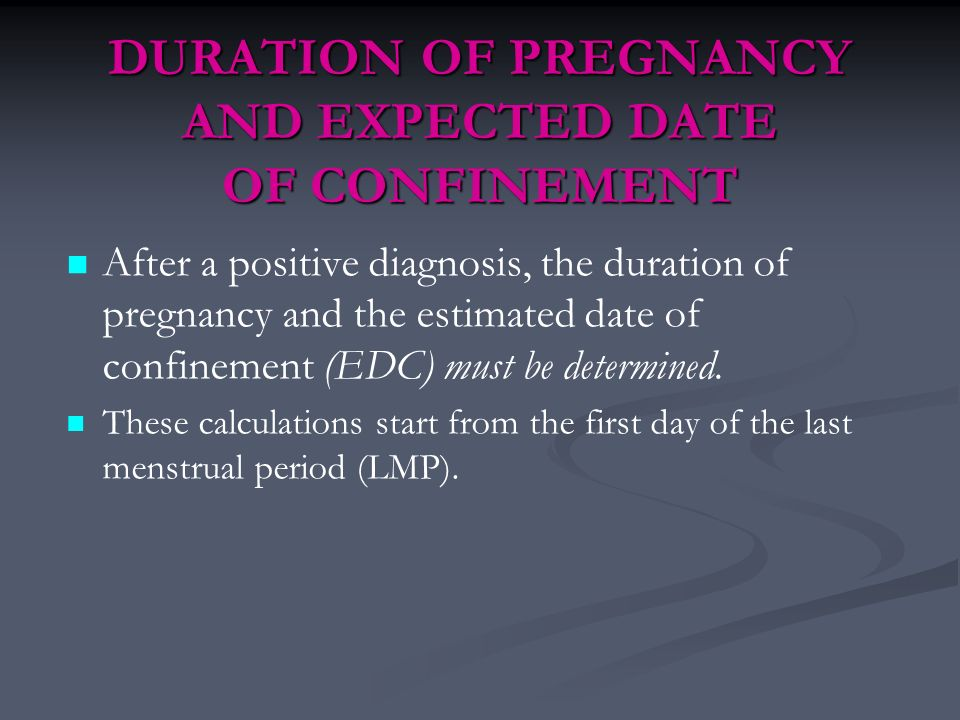 pregnancy dating by lmp From the carolina population center, the departments of epidemiology, maternal and child health, nutrition, and biostatistics, school of public health, and the department of obstetrics and gynecology, school of medicine, university of north carolina at chapel hill comparison of pregnancy dating by last menstrual.