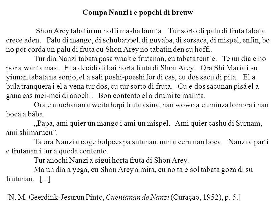 Compa Nanzi i e popchi di breuw