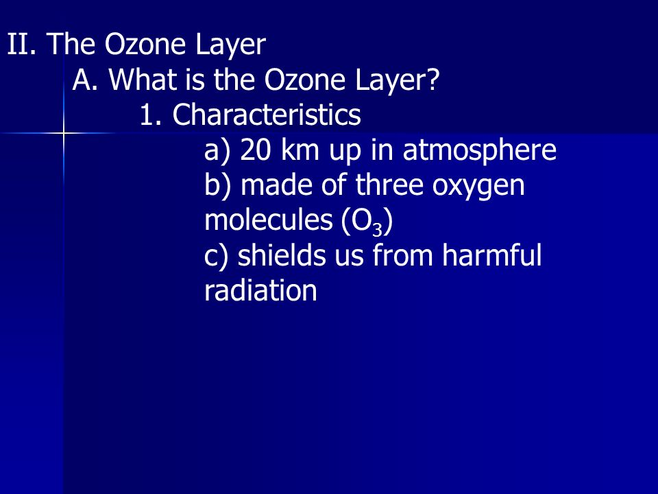 an analysis of the three compounds that make the ozone layer All about ozone ozone is a relatively simple molecule, consisting of three oxygen atoms bound together yet it has dramatically different effects analytical chemists had begun developing a cavalcade of new instru- ments and methods to measure minute quantities of compounds in the laboratory.