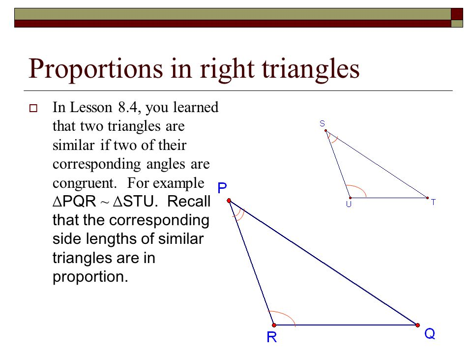 91 Similar Right Triangles ppt download – Similar Triangles Proportions Worksheet