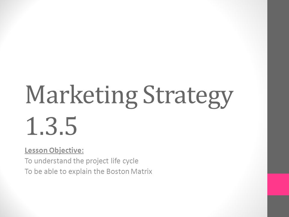 Marketing Objectives As SMART Goals And Part Of The Marketing Plan