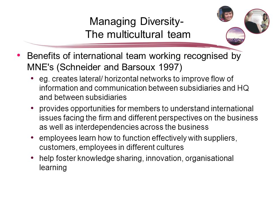 managing across culture schneider barsoux Managing across cultures 3rd edn  on the influences of culture in business managing across cultures will appeal to both managers  barsoux is senior.