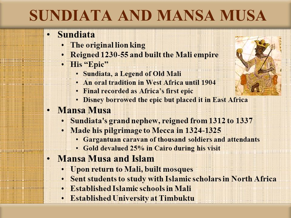 an analysis of importance of tradition and family in epic of sundiata Essays and criticism on sunjata - critical essays sunjata (also transliterated as son-jara, sun-jata, and sundiata) thirteenth-century west african epic the sunjata is named after the.