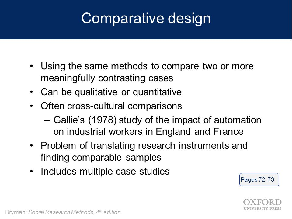 comparative case study