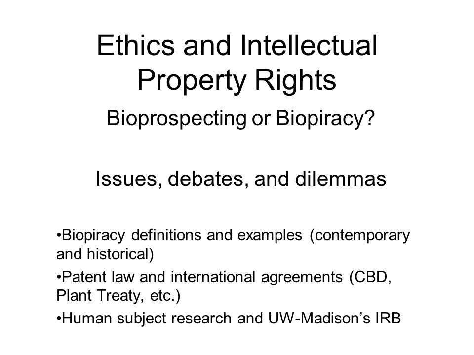 interllectual property rights Intellectual property is generally characterized as non-physical property that is the product of original thought typically, rights do not surround the abstract non-physical entity rather, intellectual property rights surround the control of physical manifestations or expressions of ideas.