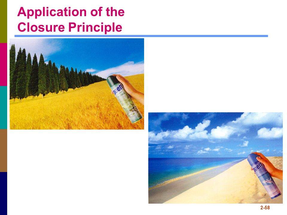Application of the Closure Principle