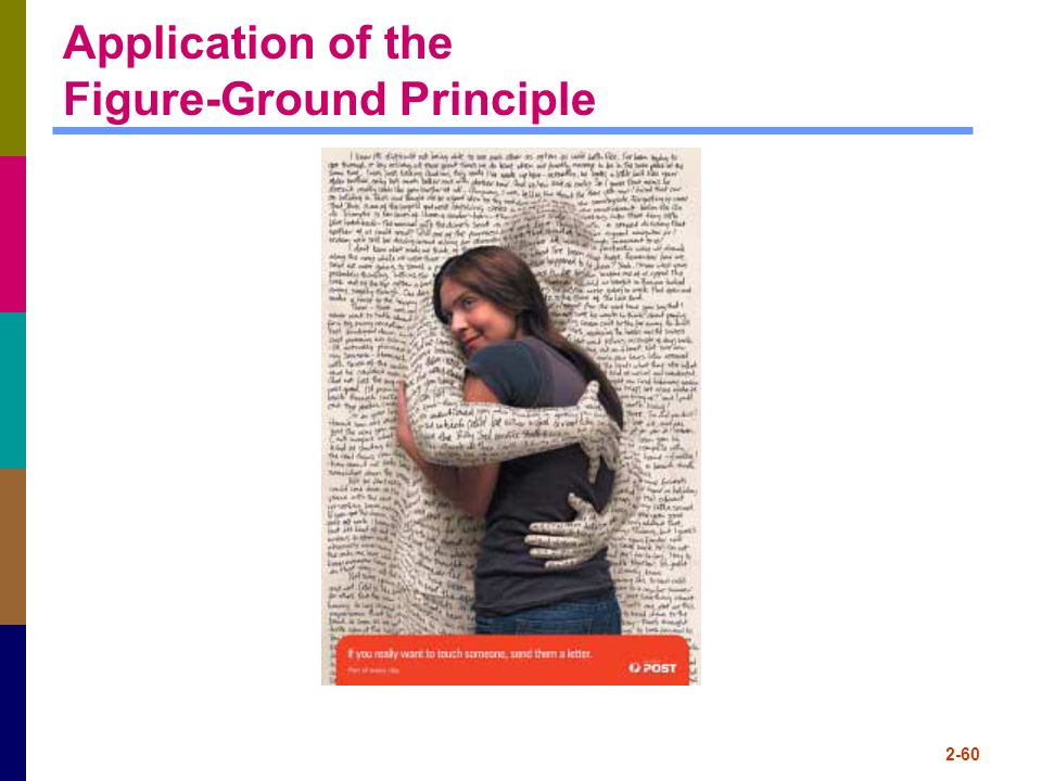 Application of the Figure-Ground Principle
