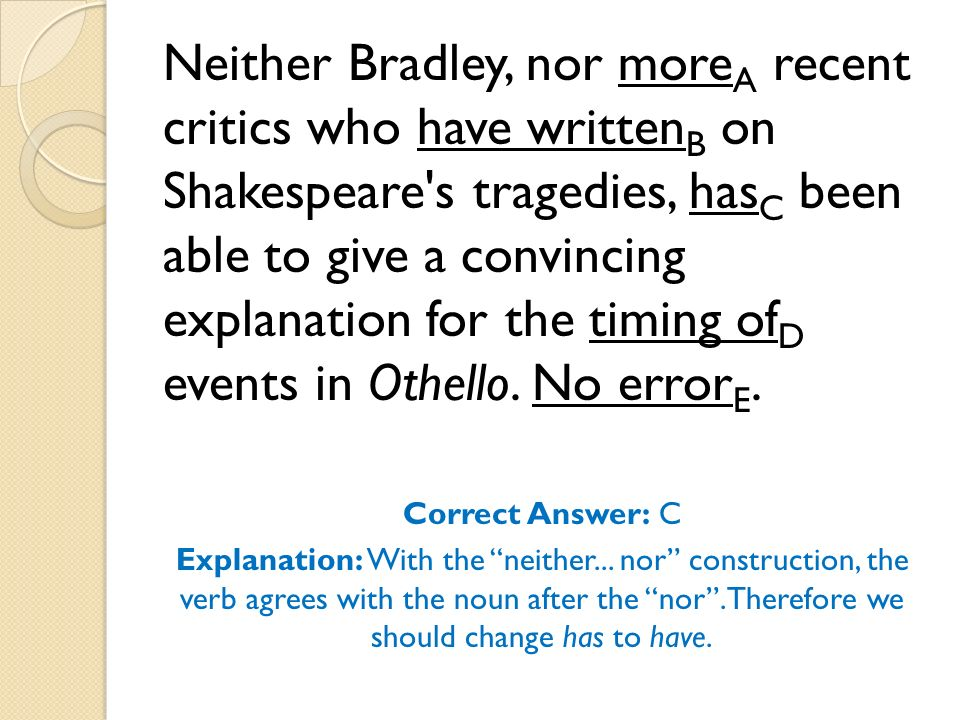 How does Othello's language change in Act 3?