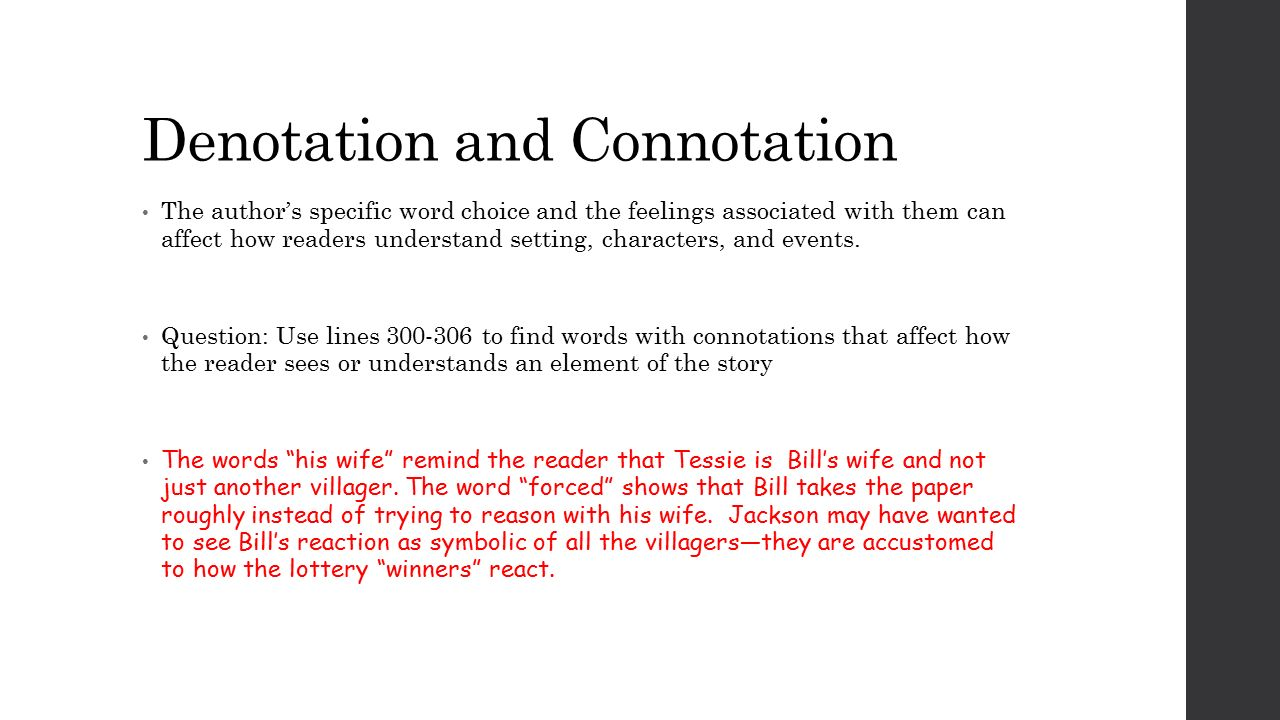 connotations and denotations worksheet Termolak – Denotation and Connotation Worksheets