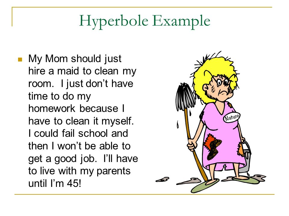 Hyperbole Examples For Students Image Collections Example Cover