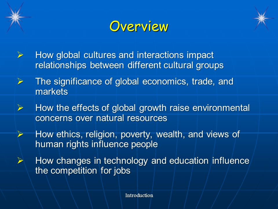 relationship between globalization and information technology