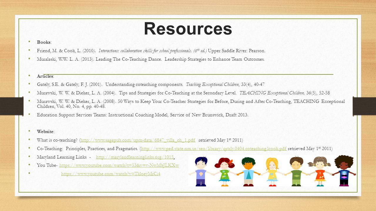 Collaborative Teaching Methods Pdf : Kim taylor denise arseneau tammy gallant ppt video