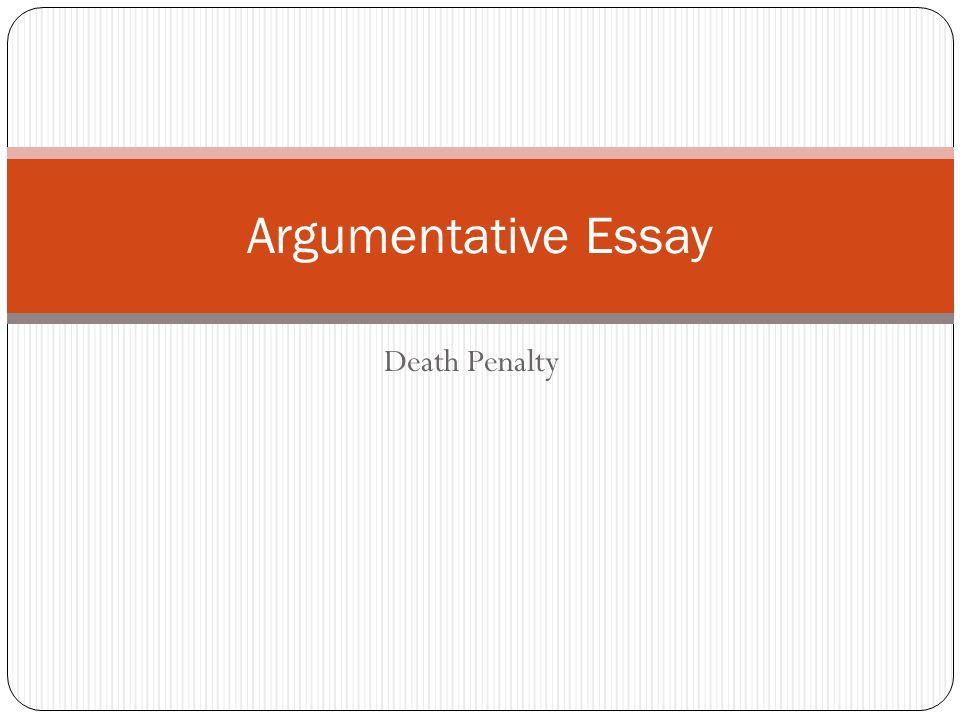 persuasive essay death penalty against