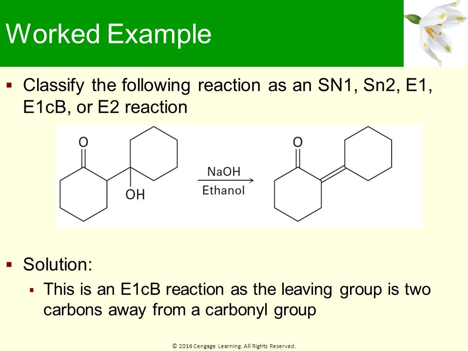 sn1 reaction Sn1 and sn2 reactions - download as pdf file (pdf), text file (txt) or view presentation slides online.