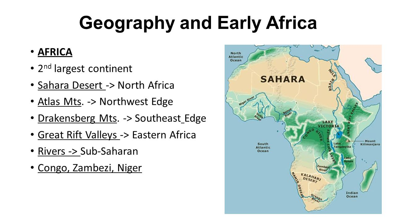 Early African Civilizations - ppt video online download