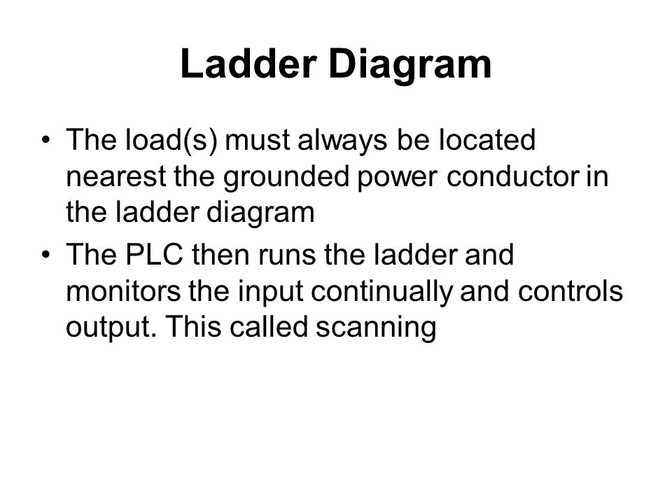 how to read a ladder diagram
