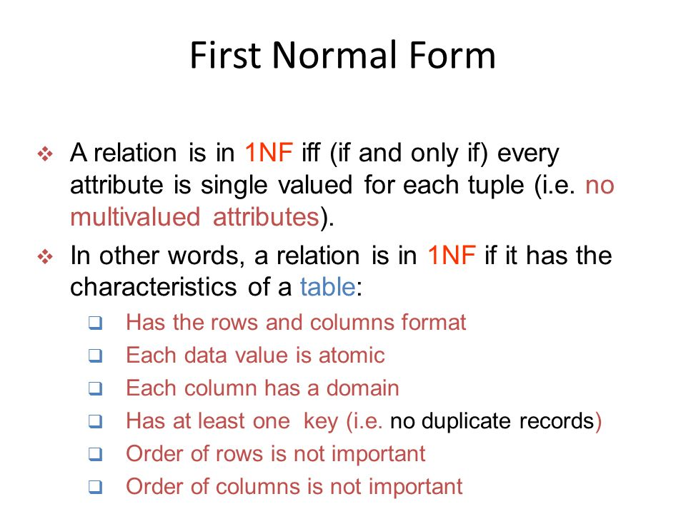 Schema Refinement and Normal Forms - ppt download