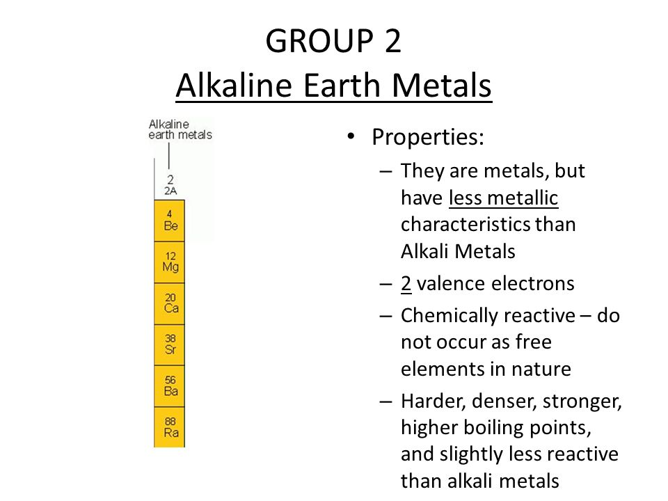 Alkali Metals Do Not Occur Free In Nature