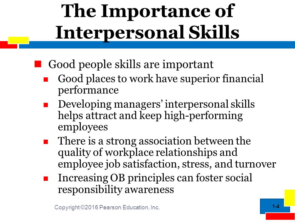 intrapersonal and interpersonal relationship skills for the workplace