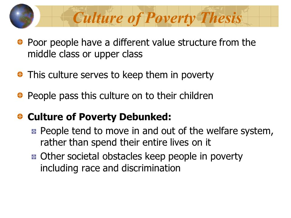 essays about poverty and crime Poverty and Crime