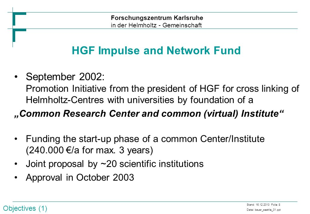 HGF Impulse and Network Fund