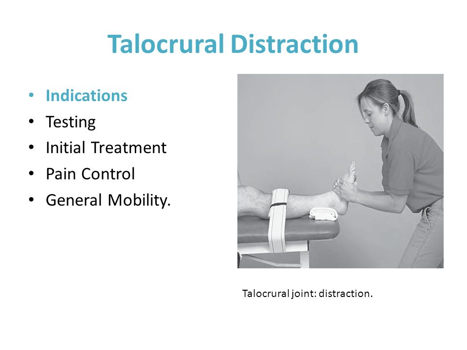 Talocrural Distraction