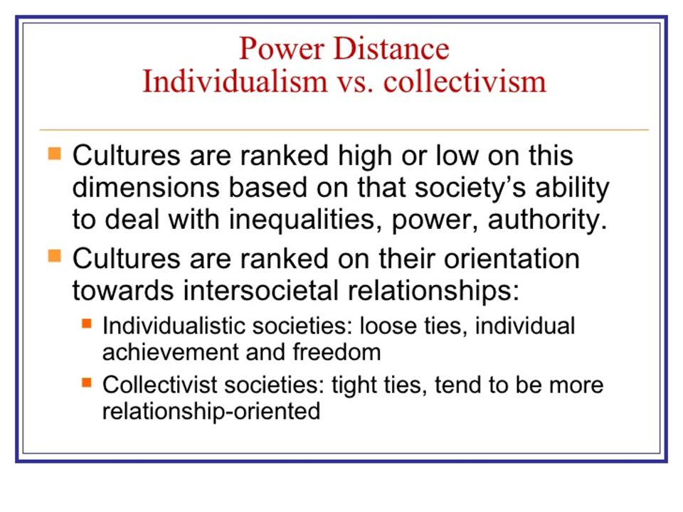 relationship between culture power and inequality