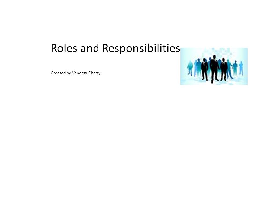 roles and responsibilities of the assessor