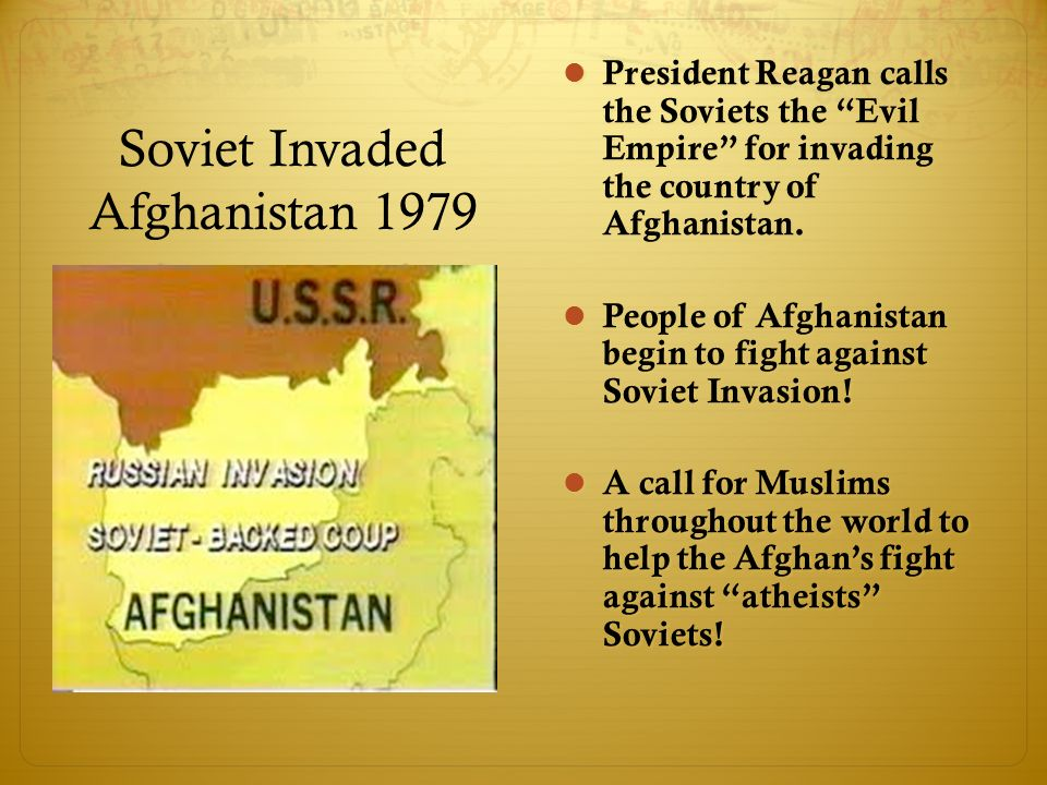 why the soviets invaded afghanistan Whythesovietsinvadedafghan why the soviets invaded afghanistan there were several reasons for the soviet invasion of afghanistan these reasons.