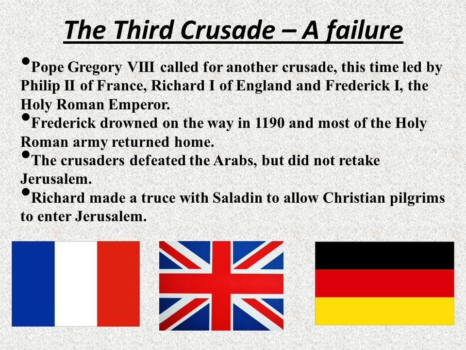 The Third Crusade – A failure