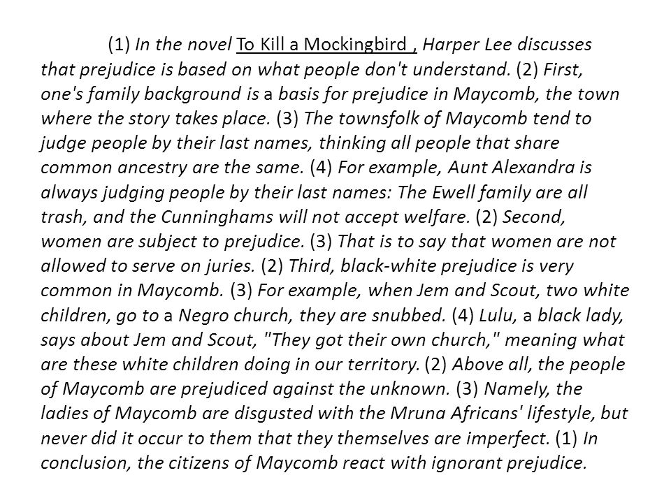the citizens of maycomb as hypocrites in the novel to kill a mockingbird by harper lee Gcse: harper lee browse by rating this led to the thousands of jobless citizens in the novel to kill a mockingbird, harper lee mentions that it is a sin to.