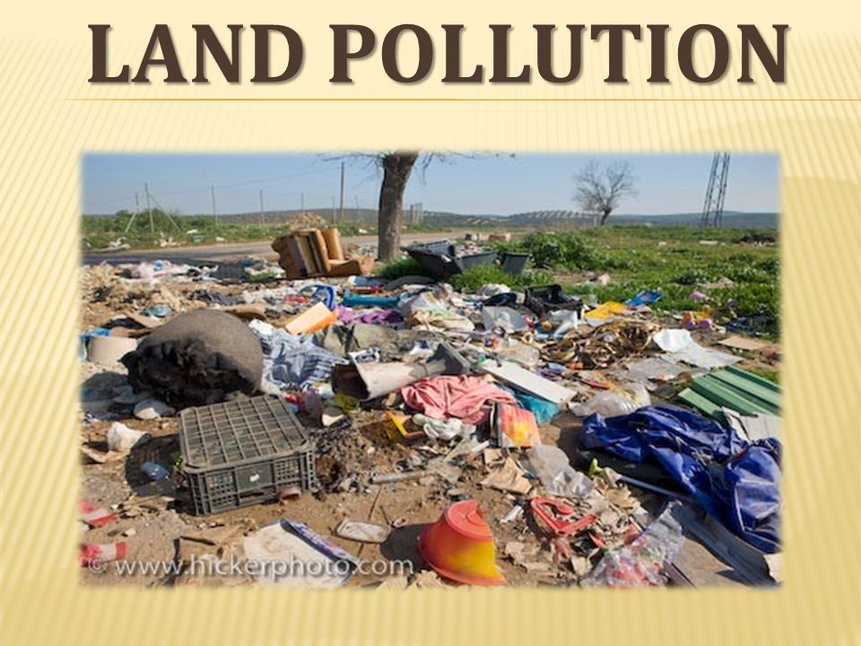 land pollution What are the types of land pollution let's find out what solid and semi-solid waste is, together with chemicals, deforestation, and soils.