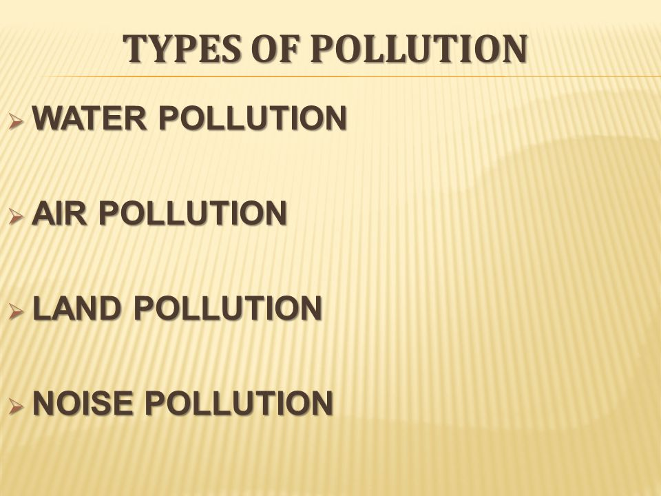 types of soil pollution This project aims to classify soil types by the parameters set in the opal soil  to  as asl (ability to support life) and aip (anthropogenic impact and pollution.