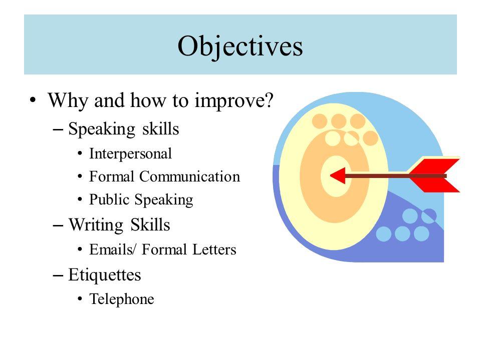 improve speaking skills