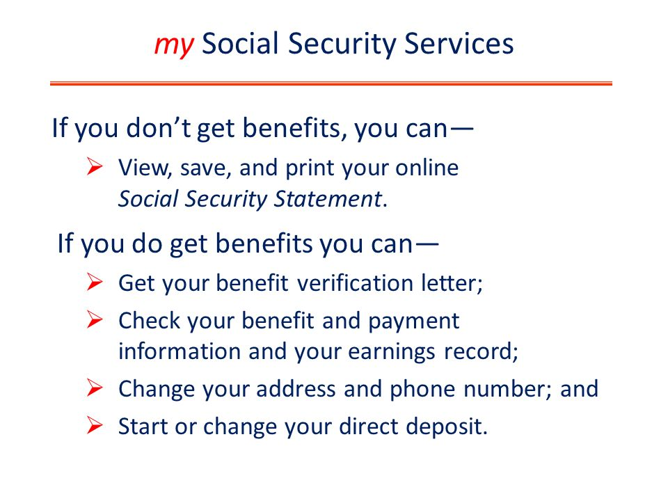 Social Security  Ppt Download