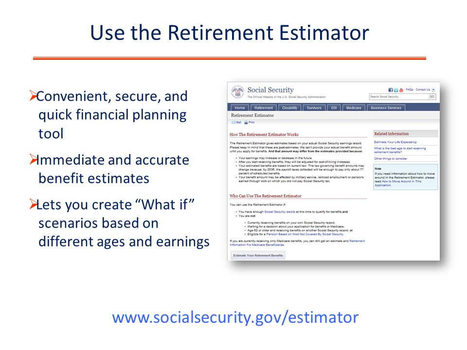 The Social Security Retirement benefits program, explained.
