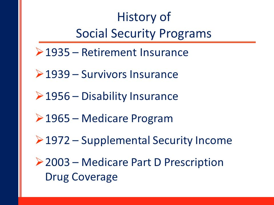 Social security ppt download 3 history ccuart Choice Image
