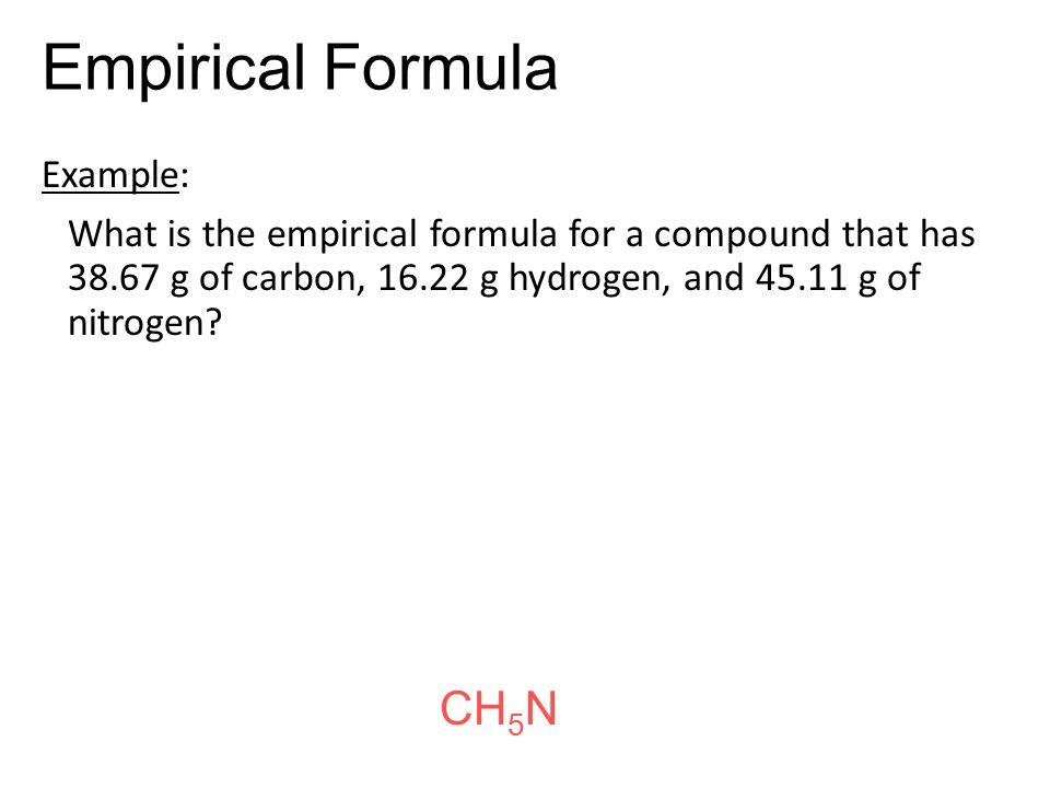 empirical formula lab